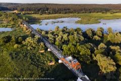Most z platformą widokową w Siekierkach