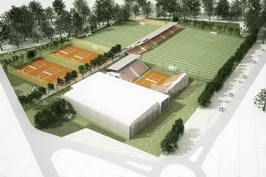 Ośrodek pobytowy Euro 2012 w Sulejówku