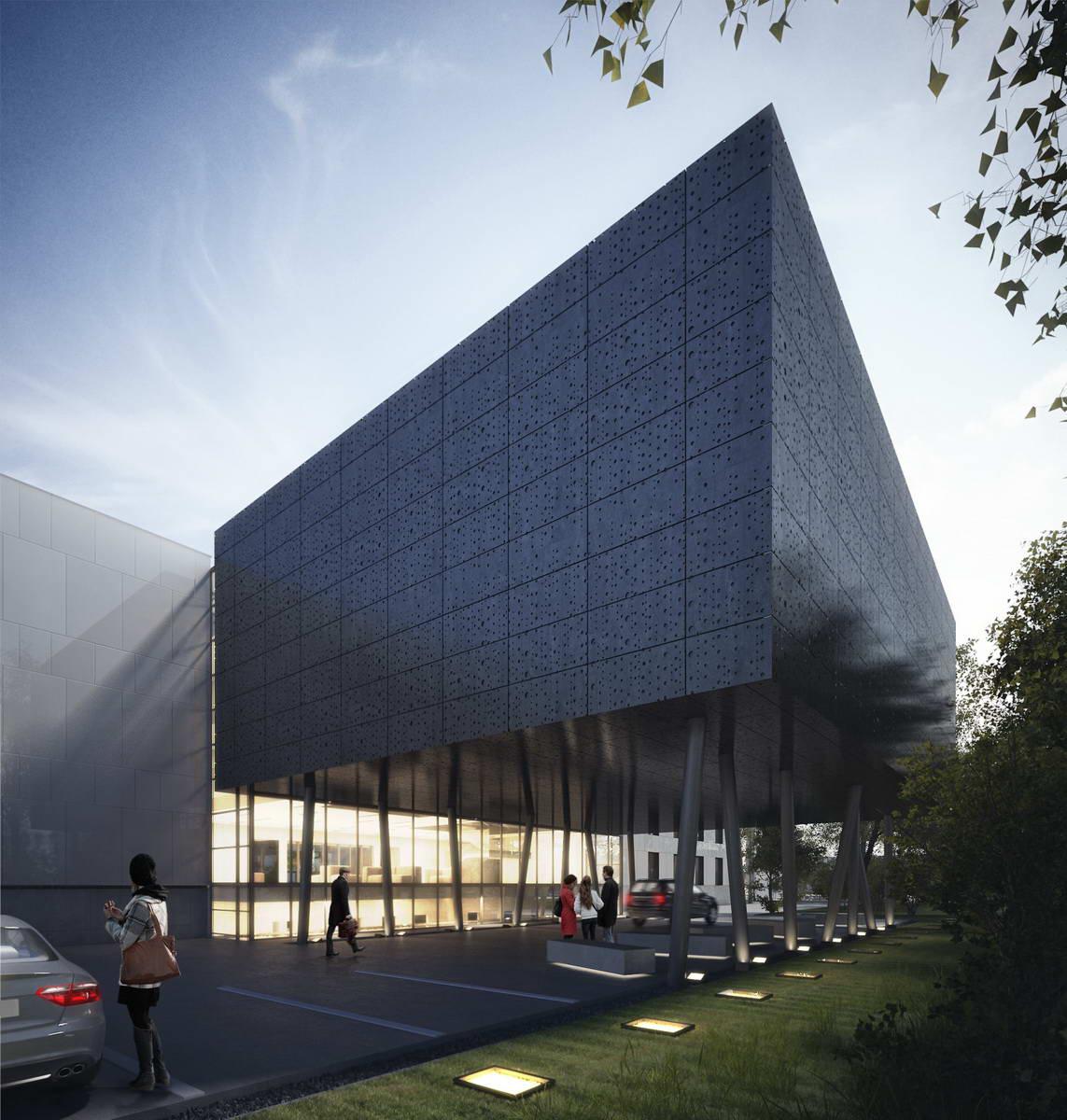 Przebudowa i budowa budynków ICMiMK UW